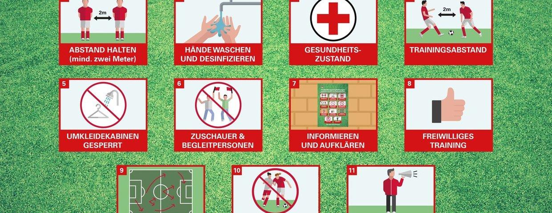 Training für Vereine ab 15. Mai möglich